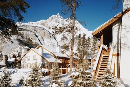 Banff Rocky Mountain: 2-BR, Kitchen - Banff - 公寓