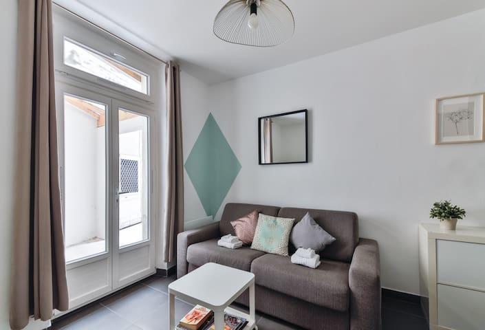 Studio cosy & calme / Montmartre - Batignolles