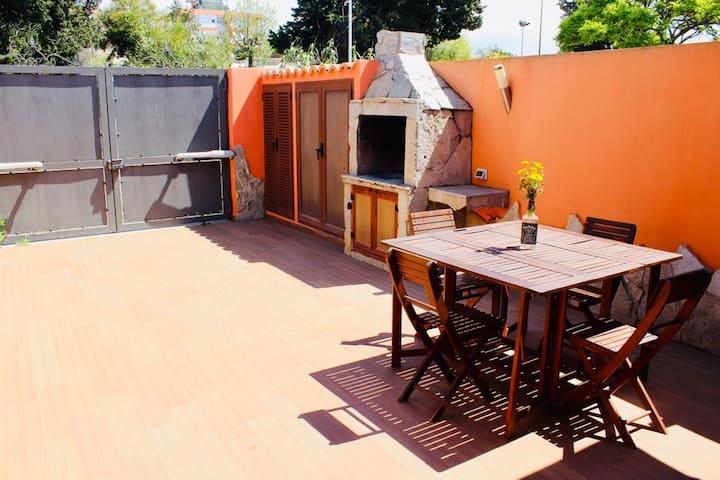 Casa con cortile a Bellavista