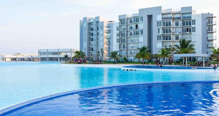 Increíble Pent House en Dream Lagoons Veracruz