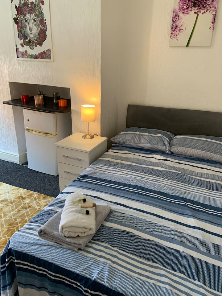Large comfortable Ground floor studio city centre