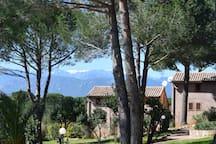 Vakantiehuisje  4 pers op 100m  vd  Golf Pinarello