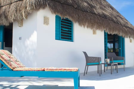 Excelente casa en Sisal,Yucatán a cuadra del mar - Sisal