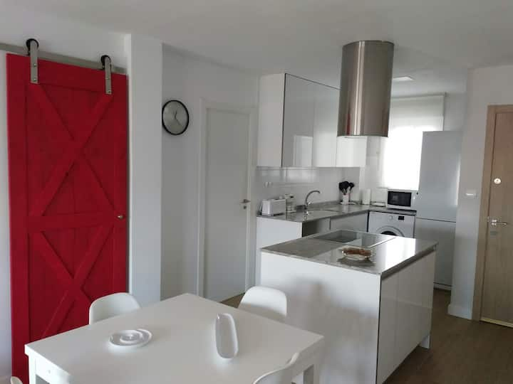 Apartamento Galeon en Cullera 100mt playa 4p+1cuna