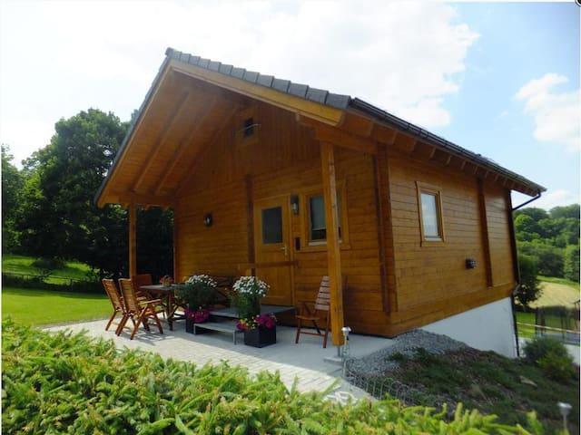 Ferienwohnungen am Burgberg (Lichtenberg), Ferienhaus Tanne (40qm) mit Terrasse