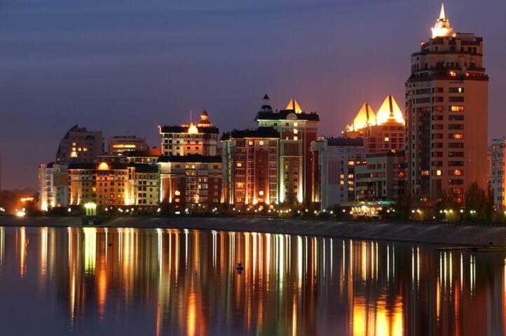 Лучшее место в Астане для прогулок по набережной - Astana - Apartment