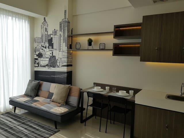Apartement Cozy Treepark BSD 1BedRom (28)