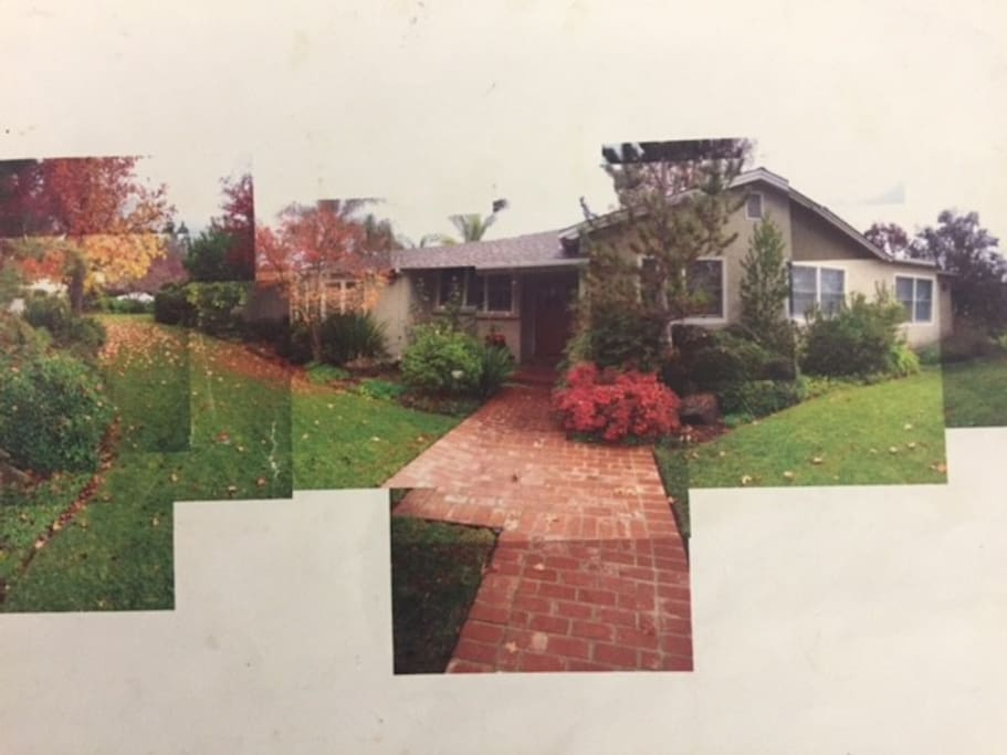 Front of the house collage