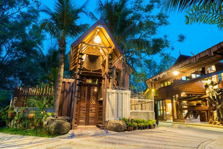 Suankaew Art Cottage (ReuanTonkaew)