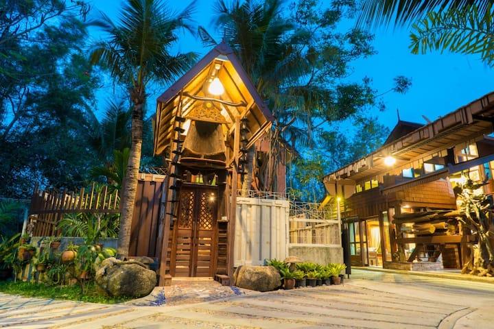 Suankaew Art Cottage (ReuanTonkaew)