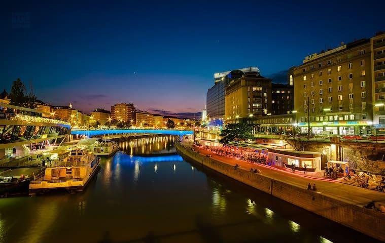 Beautiful Apartament Center Vienna Donaukanal