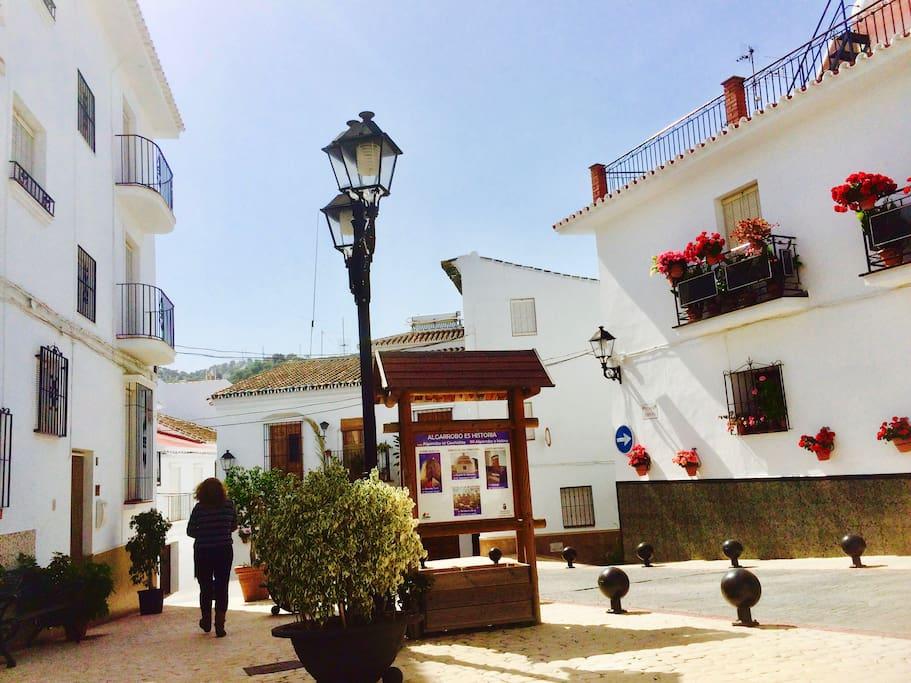 House for rent in algarrobo costa del sol townhouses for Centro del algarrobo