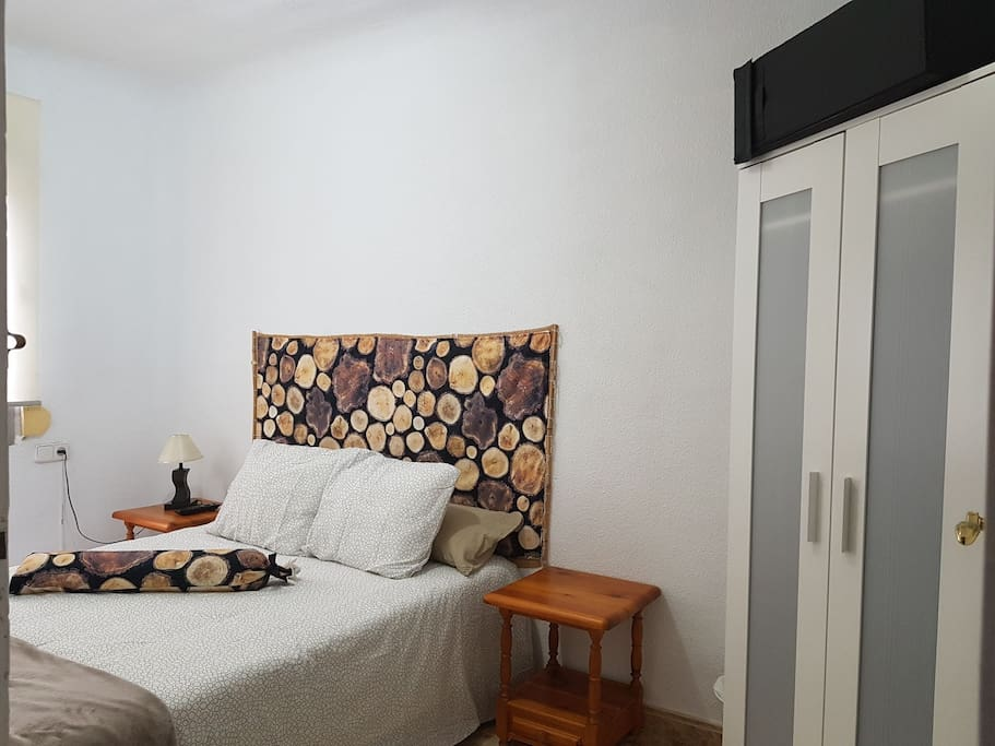 Habitación independiente con cerradura