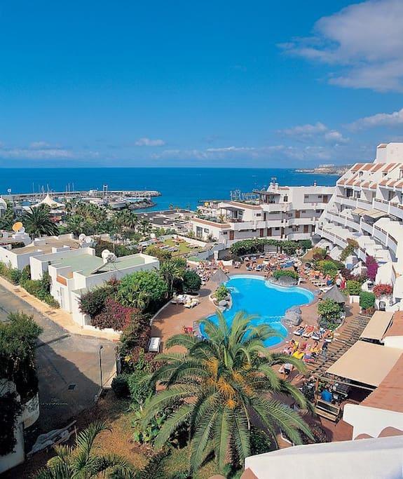 Studio beach 100 m heated swimming pool terrace flats for 100 terrace moss beach ca