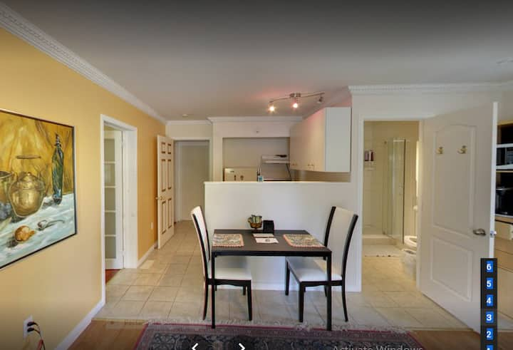 Full private apartment one or two bedrooms