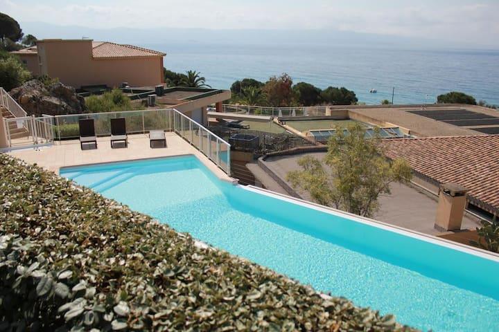 Villa des Sanguinaires: la mer à perte de vue