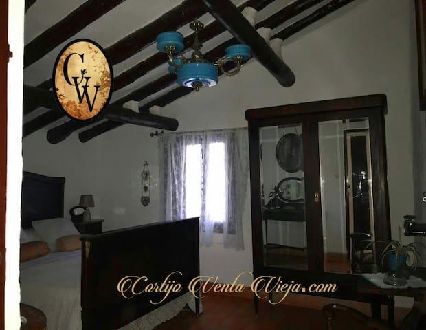 Habitación de matrimonio en Cortijo del siglo XVII