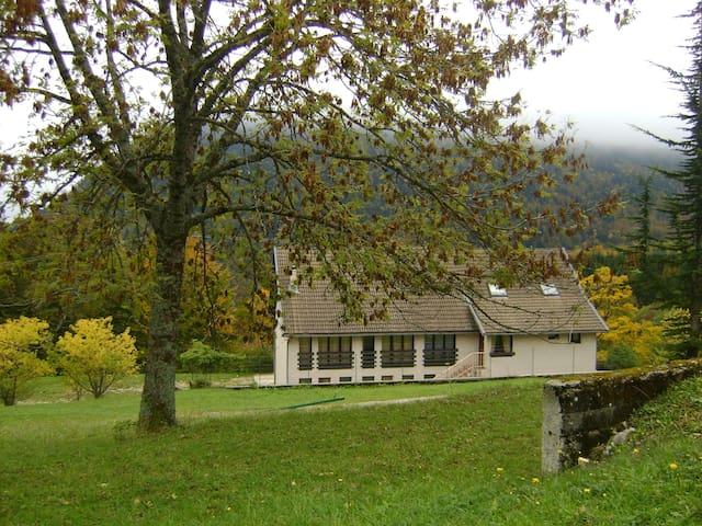gite avec vue pittoresque dans le parc du Vercors - Saint-Andéol