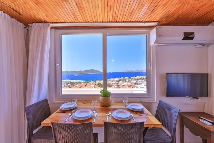 Defne Apart 2BR with seaview