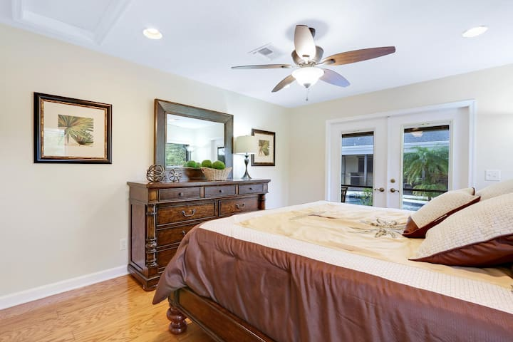 Spacious One Bedroom Guest House w/Pool - Jupiter - Casa