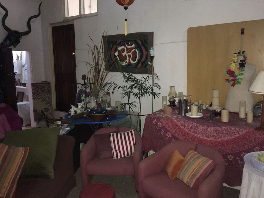 More of the eclectic main room!