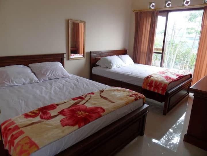 Clean Three-Bedroom Villa at Villa Panderman View