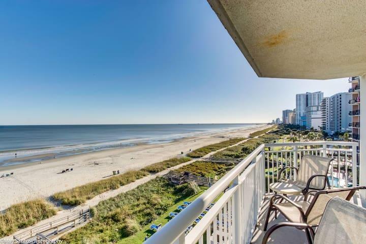 Corner Glass Oceanfront Unit ~ Spectacular Views