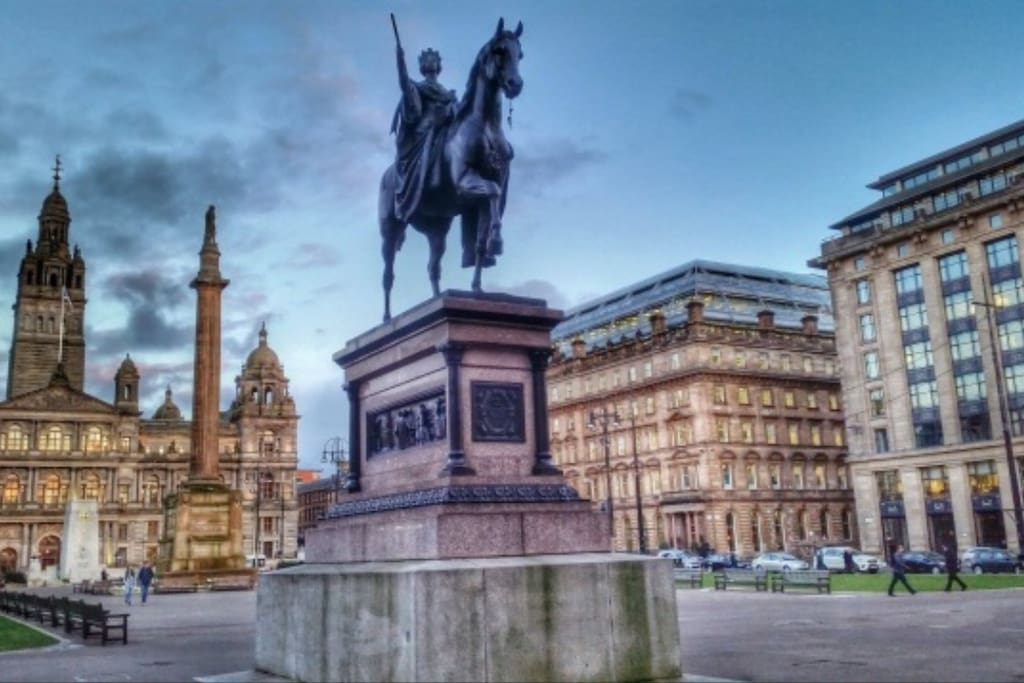 George Square and City Chambers
