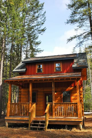 Wild Wood Cabins: Deer Crossing - Golden - Holiday home