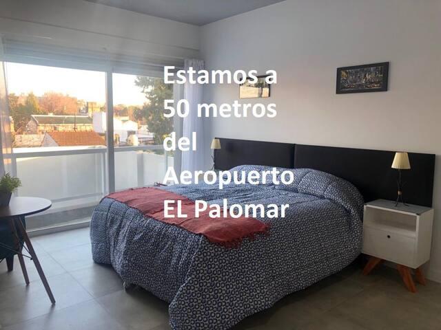 EL Palomar  (50 metros del  Aeropuerto) impecable!