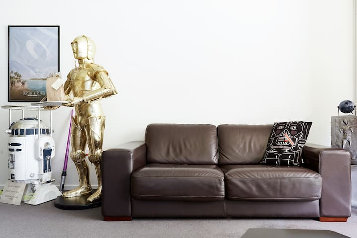 Popular Movie Themed Apartment with Rooftop Garden