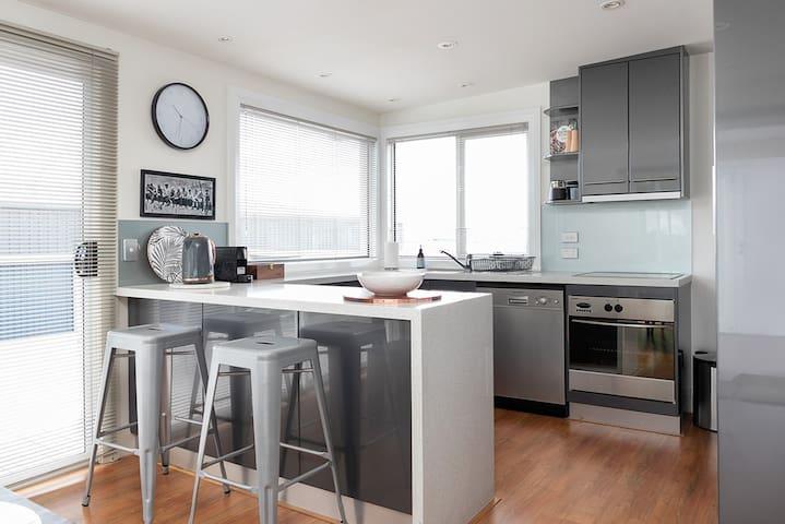 Modern kitchen facilities