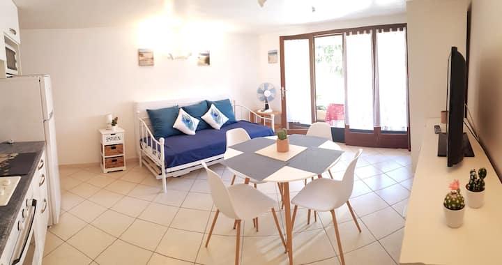 Corse Ile Rousse appt 38m² à 5 min de la plage
