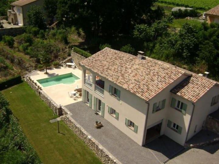 Villa Les Terrasses, 14 pers, piscine privée