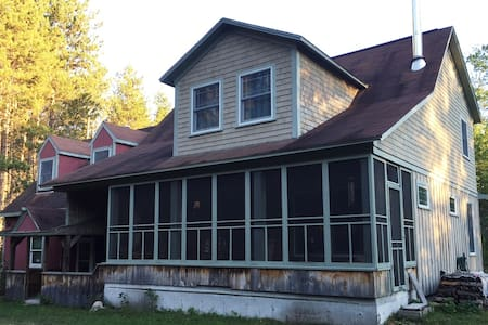 Classic, cozy bungalow near Saco River - Brownfield - Casa