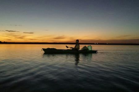 Pensacola Weekend kayak river trip - Milton