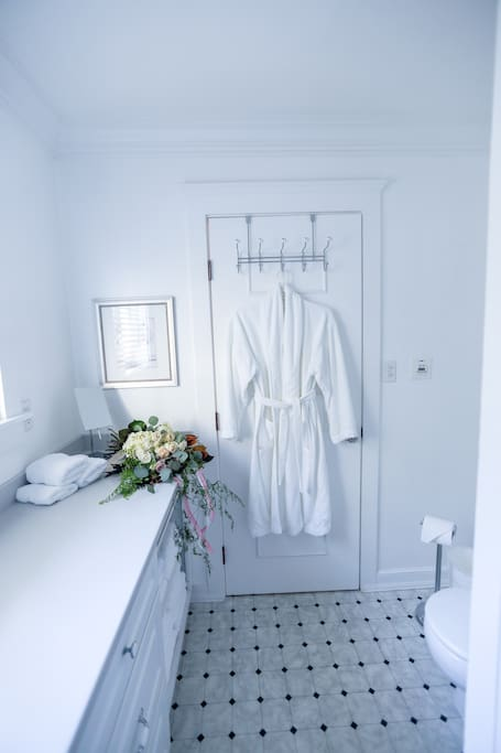 Every suite has a large private bath.