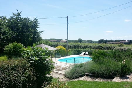 Entire apartment overlooking the river Garonne