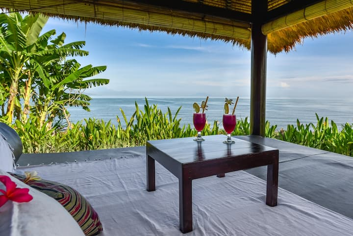 Beach House 'Bagus' in the authentic North of Bali