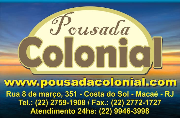 Suite na Pousada Colonial Macaé - Macaé - Bed & Breakfast