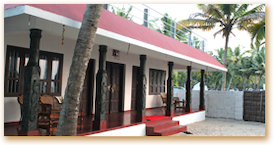 Beach view home stay with delicious homely food - Mararikulam - Wikt i opierunek