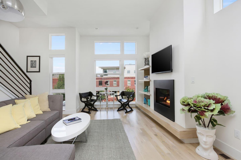 LIVE LARGE in the heart of DENVER! - Townhouses for Rent in Denver ...