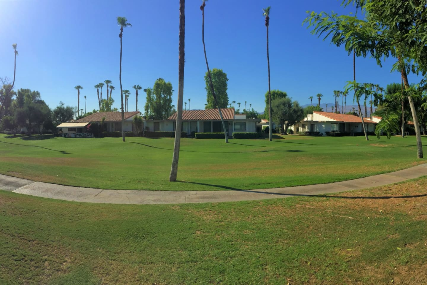Panoramic View from back Patio!  GOLF!