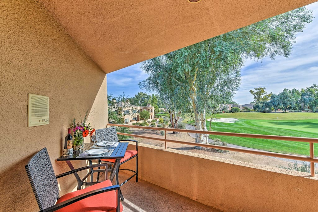You'll love the location right on the Gainey Ranch Golf Club!