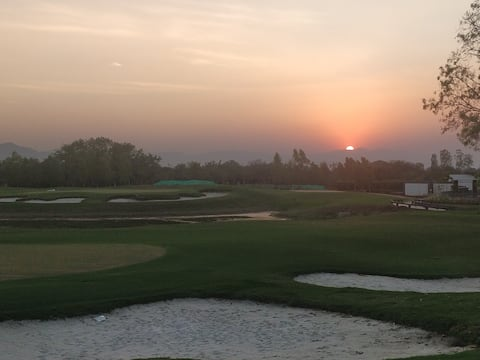Riverside Golf Course View 2BHK - Tranquil Living