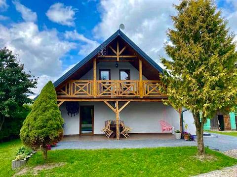 Całoroczny dom w Supieniach