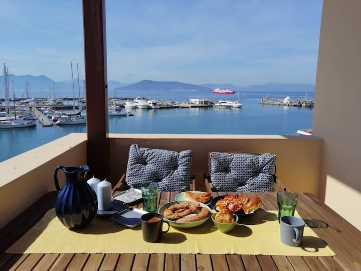 Aegina Port Apts 2- Διαμέρισμα στο λιμάνι  2