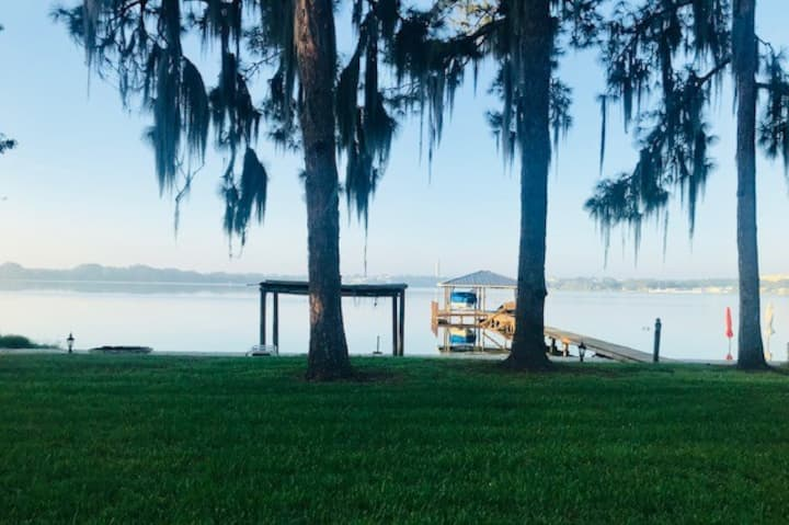 Prime Location on Lake Clay with Private Beach