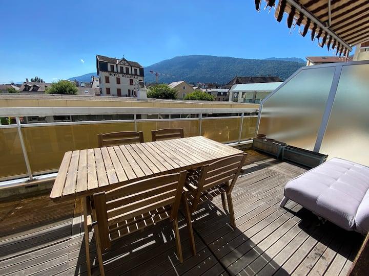 Appartement 2 pièces 33m2 + terrasse 15m2