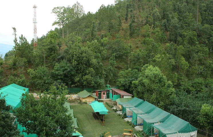 Camp Sparrow - Safari Tents - Nainital - Barraca